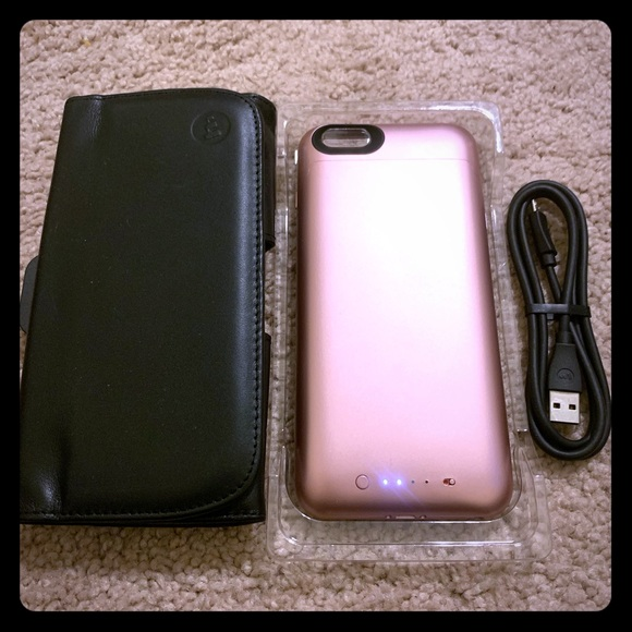 new product f2c8d 95f04 Mophie Battery Case and Holster